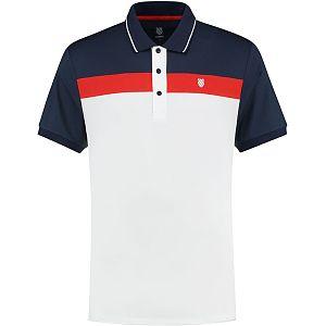 K-swiss Heritage Sport Polo stripe heren