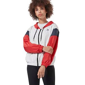 Reebok linear windbreaker