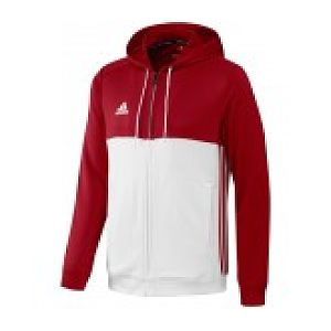 Adidas T16 Hoody Rood-Wit