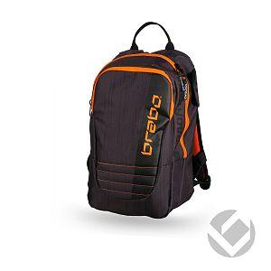 Brabo Backpack Jr Traditional Zwart-Oranje