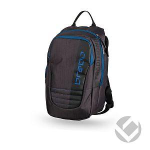 Brabo Backpack Jr Traditional Zwart-Blauw