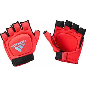 Adidas Hockey Outdoor Glove Red